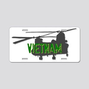 Vietnam Chinook Aluminum License Plate