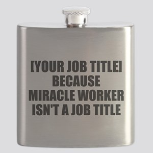 Job Title Miracle Worker Personalize It! Flask