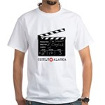 Chigliak Clapboard White T-Shirt
