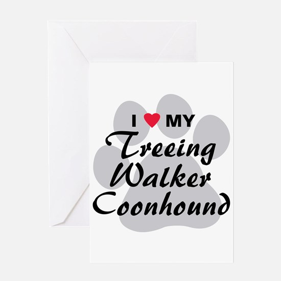 Treeing Walker Coonhound Greeting Card