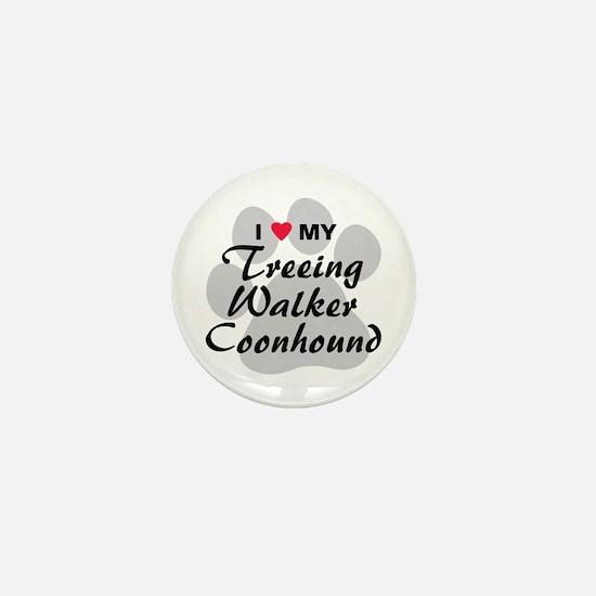 Treeing Walker Coonhound Mini Button