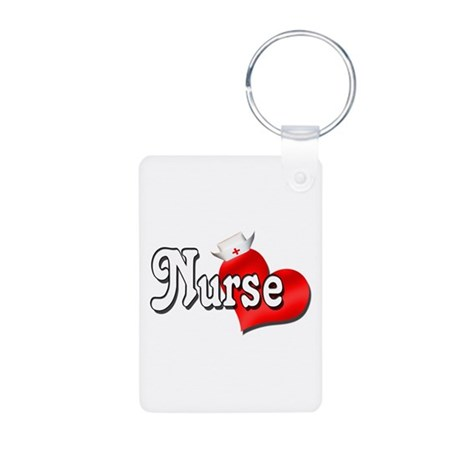 Nurse Aluminum Photo Keychain