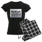 Invisible No More Dance Women's Dark Pajamas