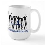 Invisible No More Dance Large Mug