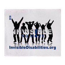 Invisible No More Dance Throw Blanket