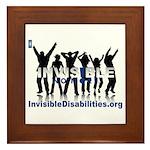 Invisible No More Dance Framed Tile