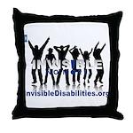 Invisible No More Dance Throw Pillow