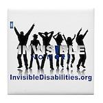 Invisible No More Dance Tile Coaster