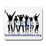 Invisible No More Dance Mousepad