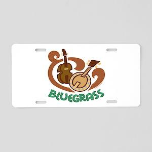 Bluegrass Aluminum License Plate