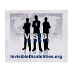 Invisible No More Team Throw Blanket