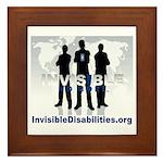 Invisible No More Team Framed Tile