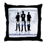 Invisible No More Team Throw Pillow