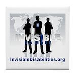 Invisible No More Team Tile Coaster