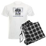 Invisible No More Team Men's Light Pajamas