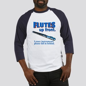 Flutes Up Front Baseball Jersey