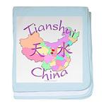 Tianshui China baby blanket