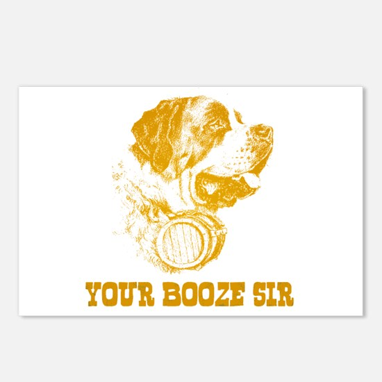 Your Booze Sir Postcards (Package of 8)