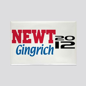 Newt Gingrich 2012 Rectangle Magnet