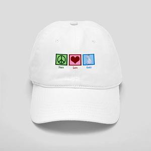 Peace Love Goats Cap