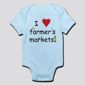 I Love Farmer's Markets Infant Bodysuit
