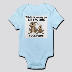 Big brother monkey Infant Bodysuit