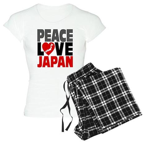 Peace Love Japan Women's Light Pajamas