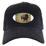 Bison Black Cap