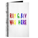 Roy G. Biv Graffiti (color wh Journal