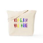 Roy G. Biv Graffiti (color wh Tote Bag