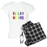 Roy G. Biv Graffiti (color wh Women's Light Pajama