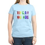 Roy G. Biv Graffiti (color wh Women's Light T-Shir