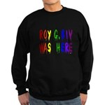 Roy G. Biv Graffiti (color wh Sweatshirt (dark)