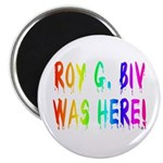 Roy G. Biv Graffiti (rainbow) Magnet