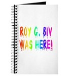 Roy G. Biv Graffiti (rainbow) Journal