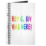 Roy G. Biv Graffiti (rainbow) Journal