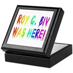 Roy G. Biv Graffiti (rainbow) Keepsake Box