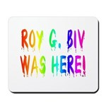 Roy G. Biv Graffiti (rainbow) Mousepad