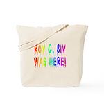 Roy G. Biv Graffiti (rainbow) Tote Bag