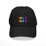 Roy G. Biv Graffiti (rainbow) Black Cap
