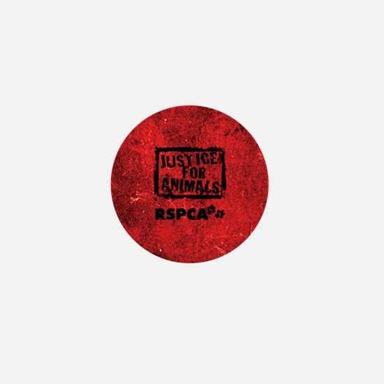 Justice for Animals Mini Button