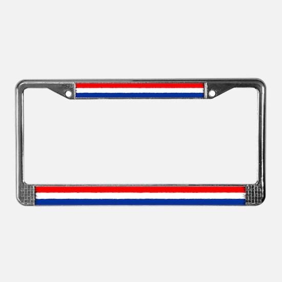 Flag of the Netherlands License Plate Frame