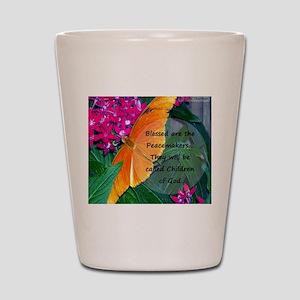 Peacemaker Butterfly Shot Glass