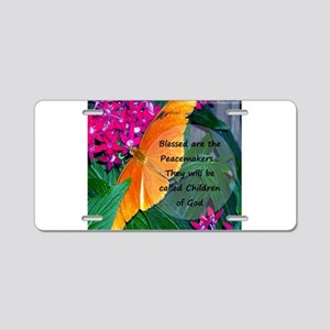 Peacemaker Butterfly Aluminum License Plate