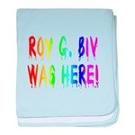 Roy G. Biv Graffiti (rainbow) baby blanket