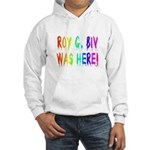 Roy G. Biv Graffiti (rainbow) Hooded Sweatshirt
