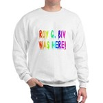 Roy G. Biv Graffiti (rainbow) Sweatshirt