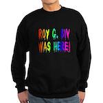 Roy G. Biv Graffiti (rainbow) Sweatshirt (dark)