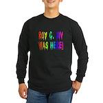 Roy G. Biv Graffiti (rainbow) Long Sleeve Dark T-S