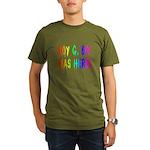 Roy G. Biv Graffiti (rainbow) Organic Men's T-Shir